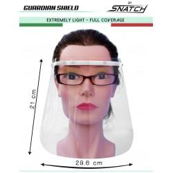 Visiera Schermo Facciale di Protezione Sicurezza Paraschizzi Parafiato in PVC Riciclabile – Guardian Shield