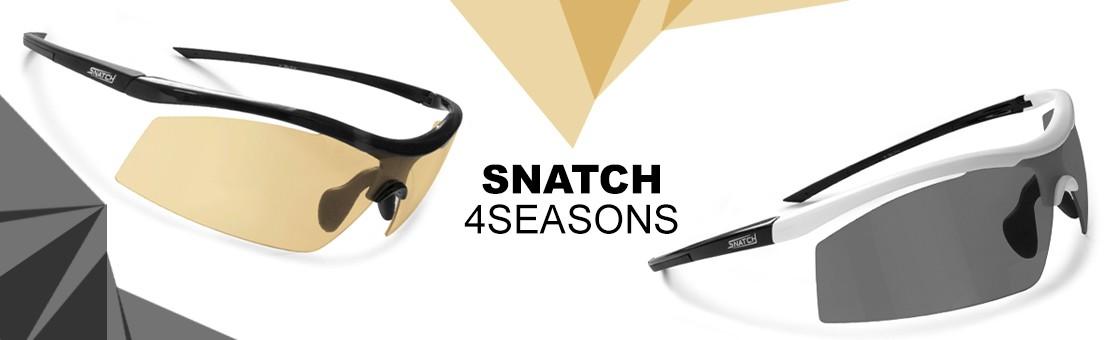 Fahrradbrillen und Rennbrille Snatch 4seasons